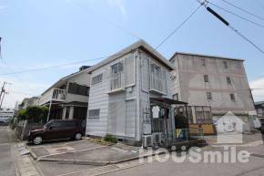 南田宮 アパート 1DK 202外観写真
