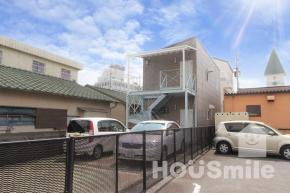 昭和町 アパート 1K 2F外観写真