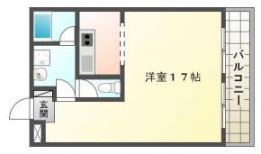 庄町 マンション 1R 302間取り図