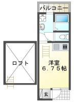 庄町5丁目 アパート 1R 103間取り図