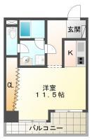 庄町 マンション 1R 407間取り図