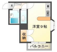 庄町5丁目 アパート 1R 202間取り図