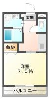 ピース・カーザ 307間取り図