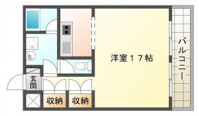 庄町 マンション 1R 301間取り図