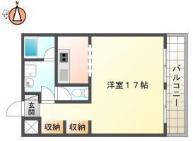 庄町 マンション 1R 202間取り図
