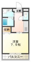 ピース・カーザ 105間取り図