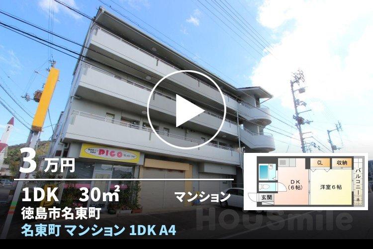 名東町 マンション 1DK A402