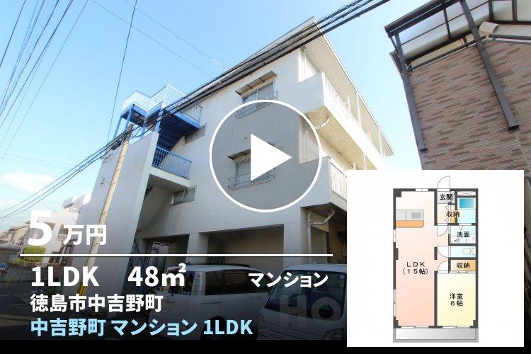 中吉野町 マンション 1LDK 202