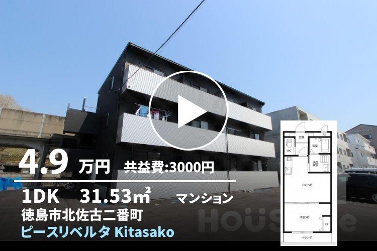 ピースリベルタ Kitasako C棟 302