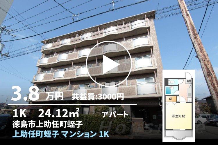 上助任町蛭子 マンション 1K 201