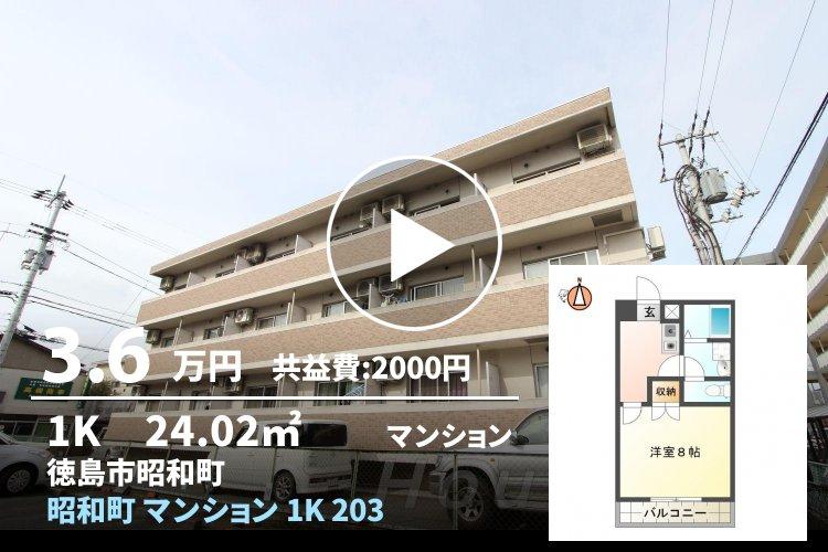 昭和町 マンション 1K 203